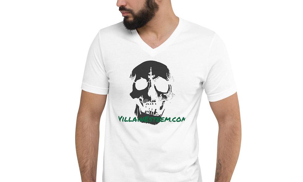 VE Unisex Short Sleeve V-Neck T-Shirt