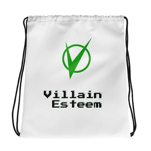 Villain Esteem Geek Drawstring bag