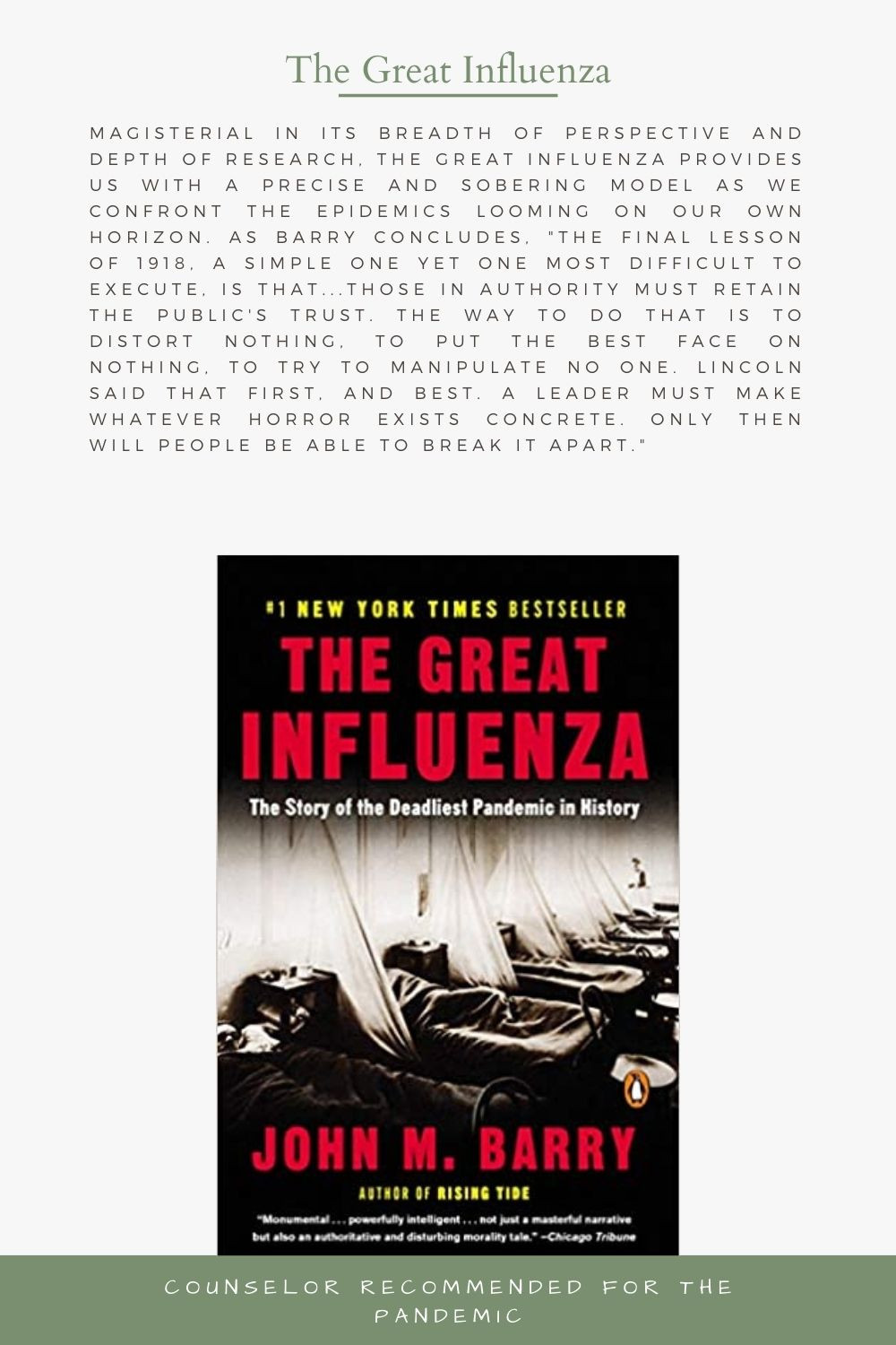 The Story of the Deadliest Pandemic in History