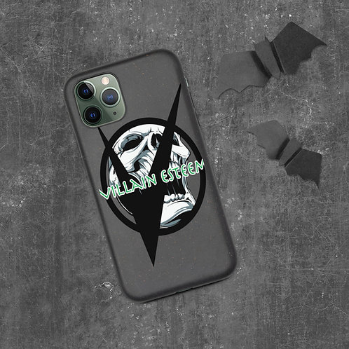 Villain Esteem Laughing Skull Biodegradable phone case