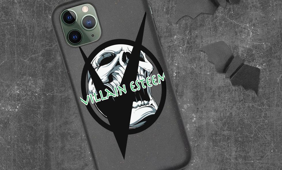 Villain Esteem Laughing Skull Biodegradable phone case