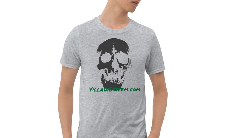 Shattered Villain Esteem Skull Short-Sleeve Unisex T-Shirt