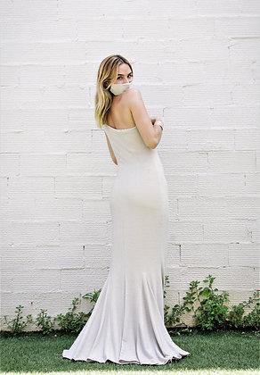 Vestido Jolie plata