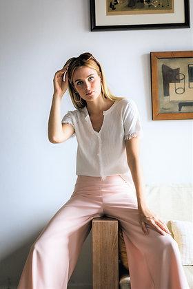 Pantalón Katherine Hepburn rosa