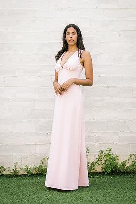 Vestido Peonia rosa