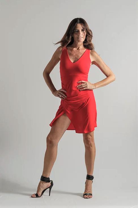 Vestido Perseo rojo
