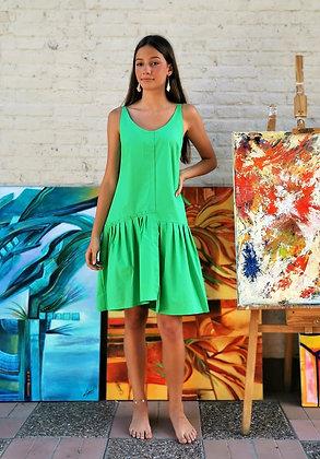 Vestido Hapiness verde