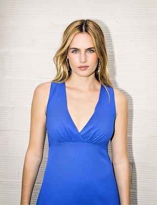 Vestido Peonia azul