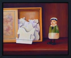 Jigsaw and Little Green Man