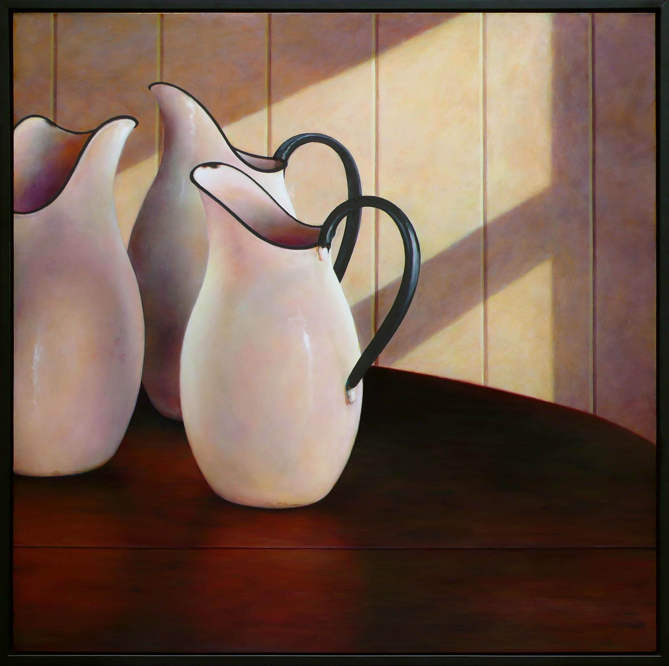 Three Pitchers- Morning Light