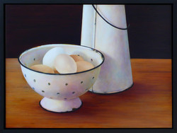 Colander and Eggs