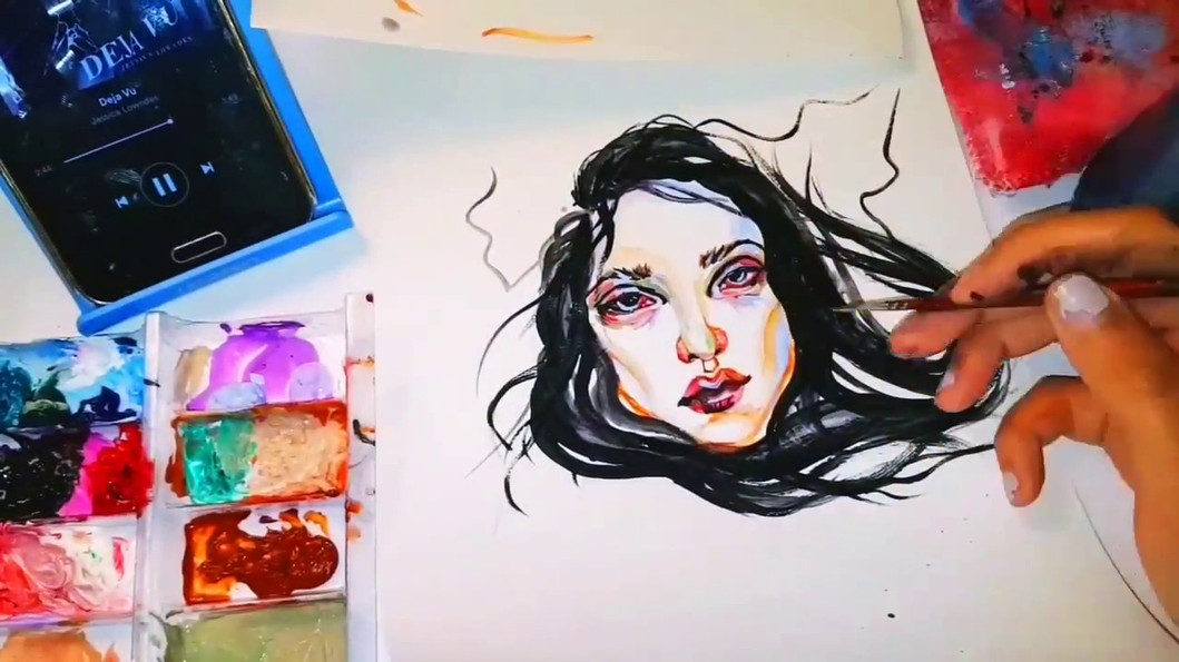 6.5.2017 Acrylic Paints