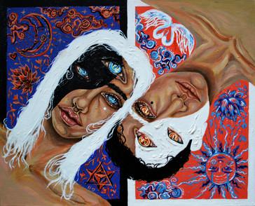 4.9.2020 Yin Yang, Acrylic Paints