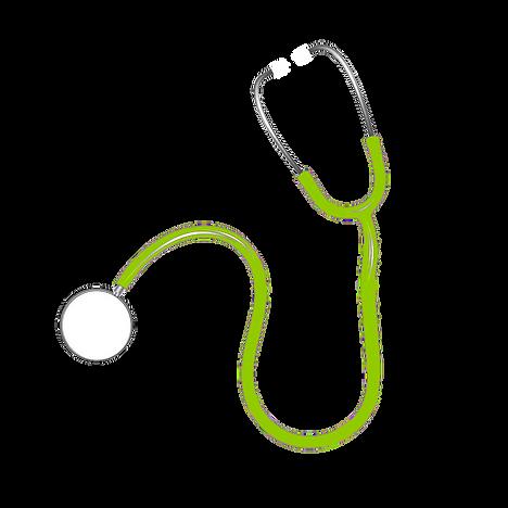 image stéthoscope vert