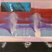 acrylique sur toile,90x90cm 2013.
