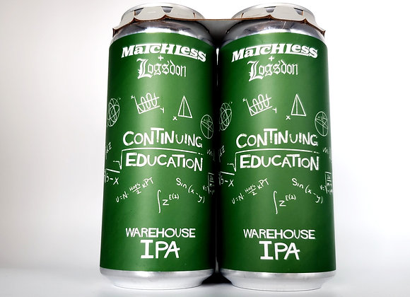 4 PACK-CONTINUING EDUCATION Hazy Ipa (Matchless collab)