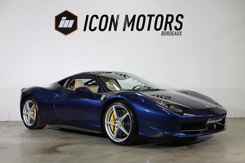 Ferrari 458 italia 4.5 v8 570 dct7