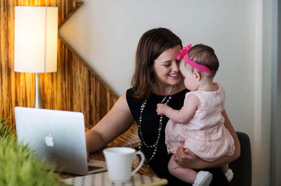 Becoming A Mom Makes Women Better At Work