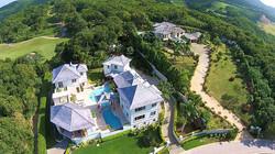 Aerial Villa View