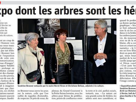 Article L'Est Républicain du 16/01/19