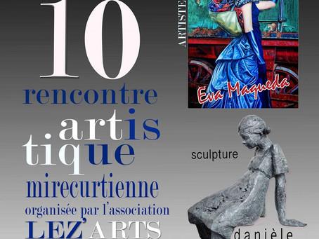 10e rencontre artistique mirecurtienne