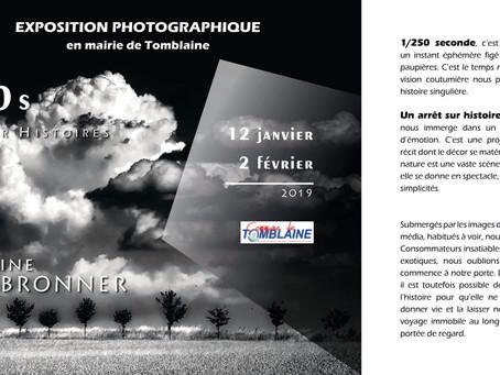 Exposition en mairie de Tomblaine « 1/250 s - Arrêt sur histoires »