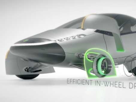 EV maker Aptera partners with Elaphe for in-wheel motors