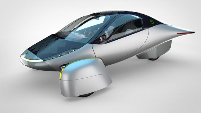 Aptera's Solar Vehicle