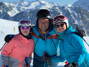 Why am I in the ski business? It is all because of my wife!