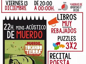 """""""Noche en blanco"""" de la Librería Técnica de Murcia"""