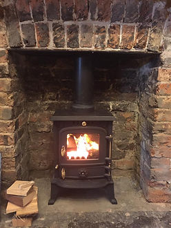 Relax by one of our log burners