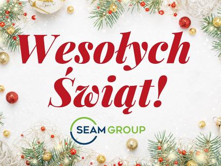 Życzenia od Zespołu SEAM Group Europe