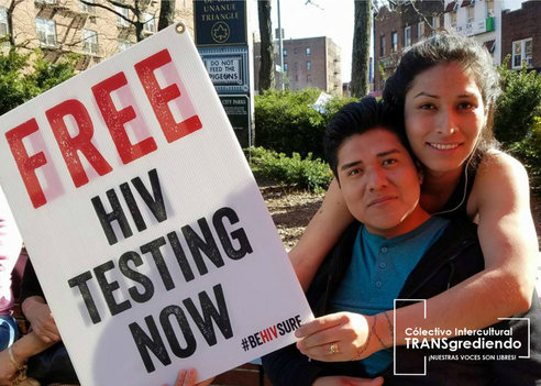 National Transgender HIV Testing Day #HIVTESTING, Nuestrxs Voluntarixs