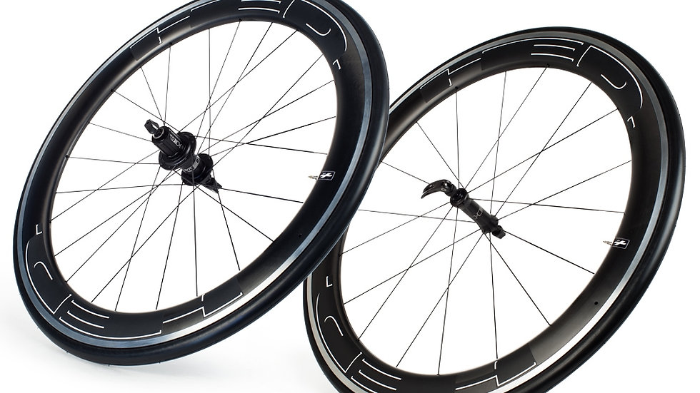 HED JET PLUS RIM BRAKE WHEELSET