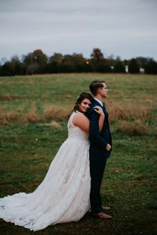 Nashville Bride and groom wedding