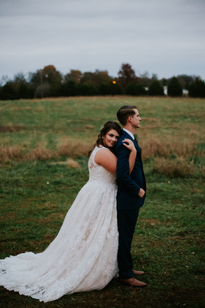 Nashville Bride and groom wedding