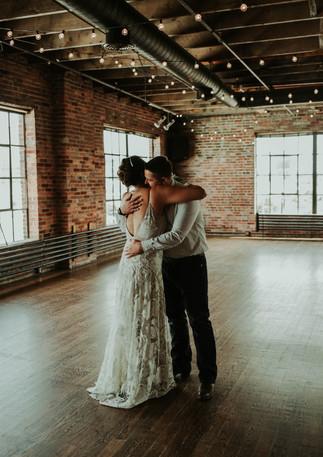 marathon city music works elopement, indigenous wedding