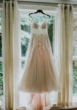 wedding dress details, cheekwood elopement