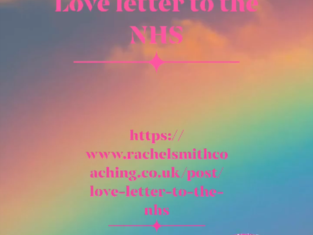 Love letter to the NHS