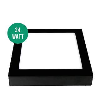 24-Watt-Sıva-Üstü-Kare-Panel-Siyah (1)