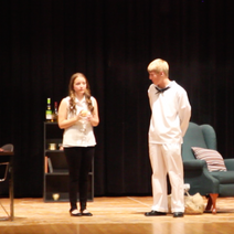 """As Patricia in Charles Evered's """"Adopt a Sailor,"""" 2013"""
