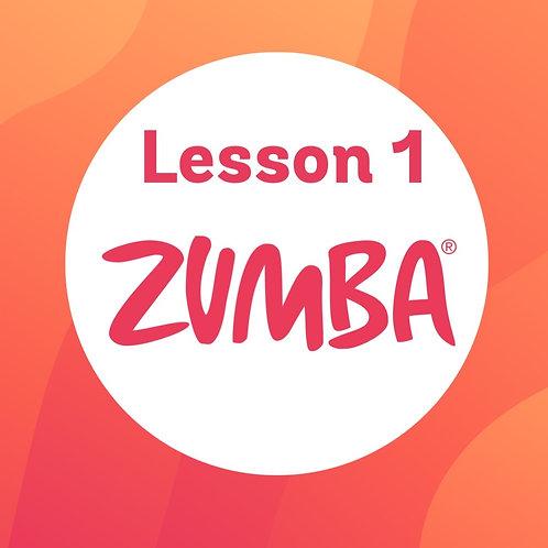 Zumba Dance Lesson 1