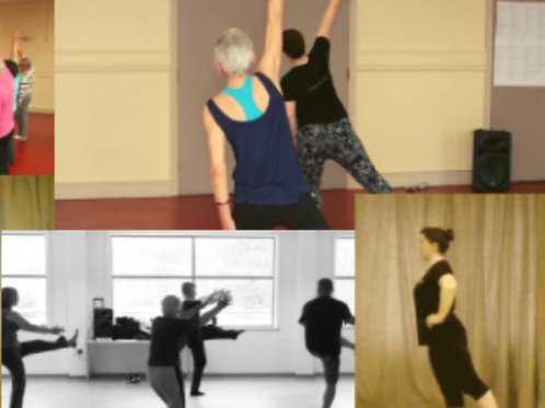 Adults Dance Class - Health and Well-Being Programme