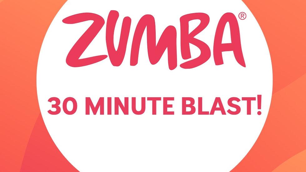 30 minute Zumba BLAST