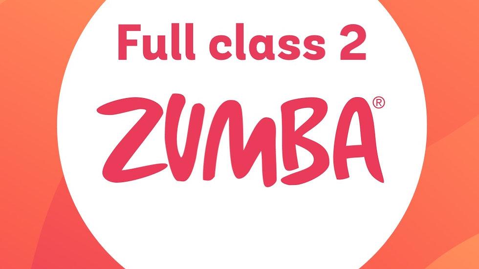 Full Zumba Dance Class 2