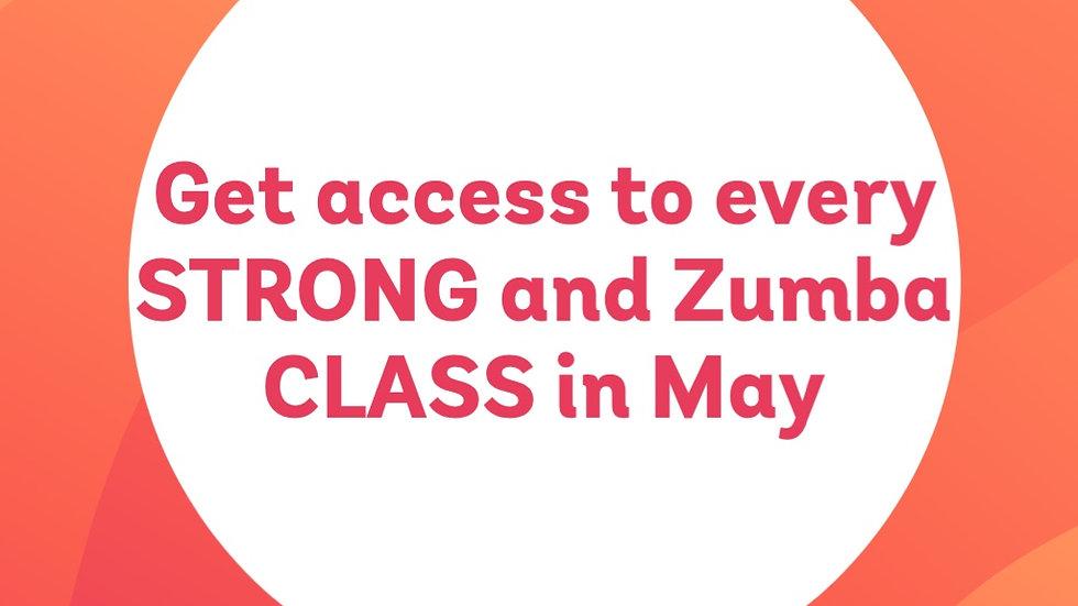 11 - May Zoom STRONG & Zumba