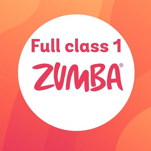 Full Zumba Dance Class 1