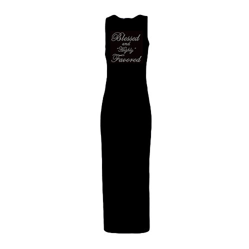 Blessed and Favored Rhinestone Dress