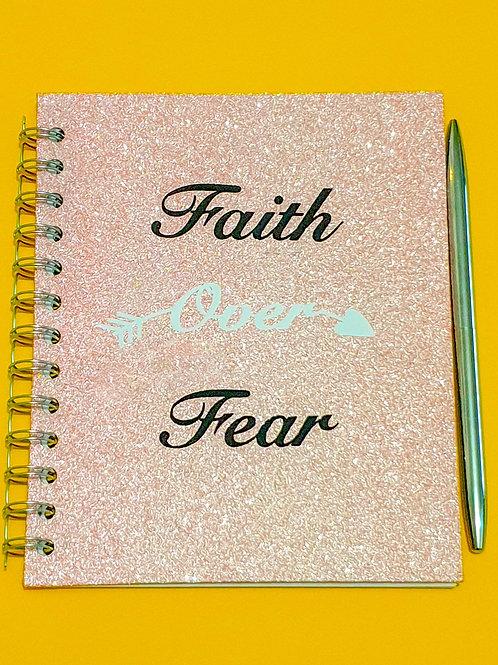 Faith over Fear Notebook