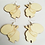 Thumbnail: Hand-Painted Customisable Wooden Earrings